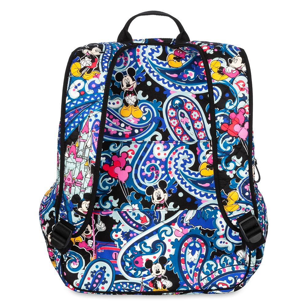 Mickey Mouse Whimsical Paisley Campus Backpack by Vera Bradley