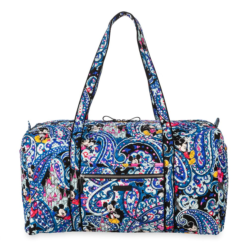 Mickey Mouse Whimsical Paisley Duffel Bag by Vera Bradley