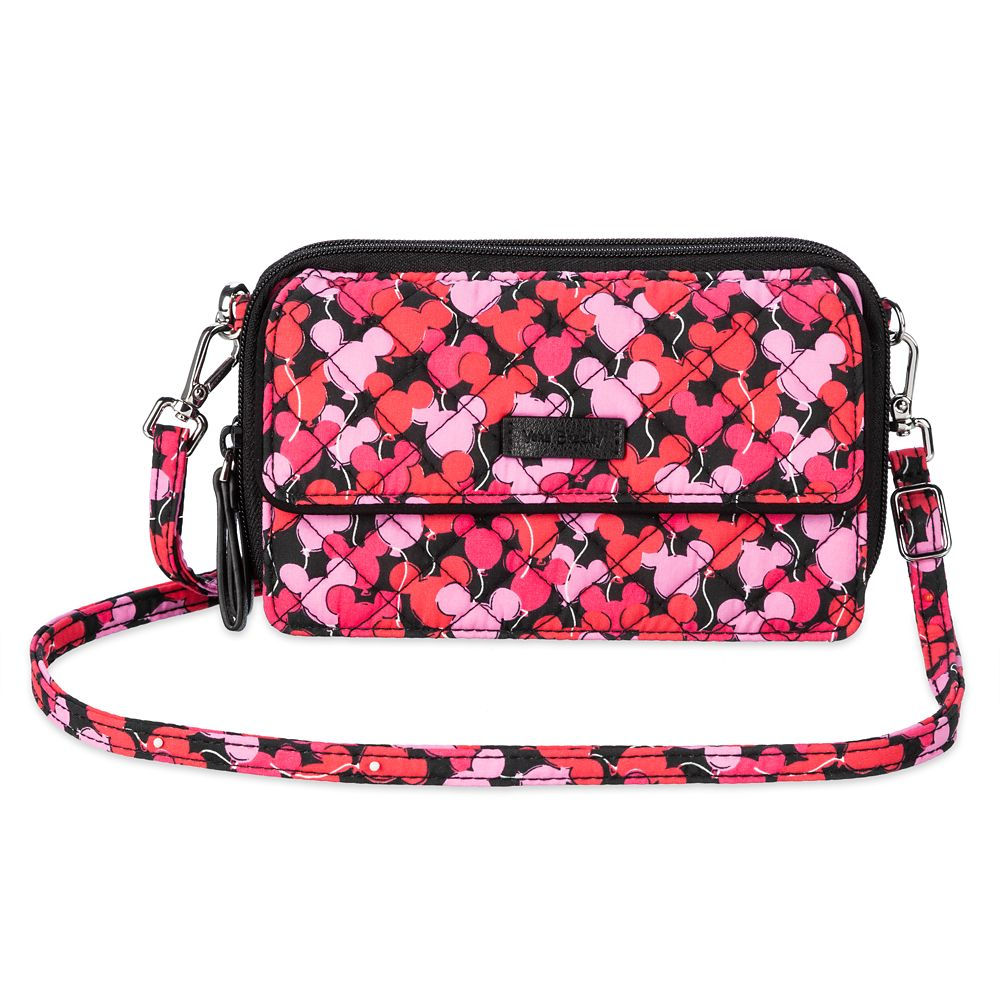 Mickey Mouse Whimsical Paisley All in One Crossbody Purse by Vera Bradley