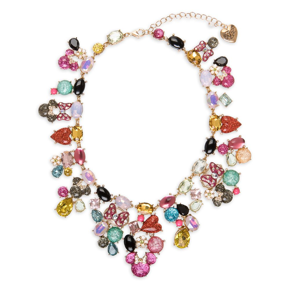Minnie Mouse Statement Necklace by Betsey Johnson