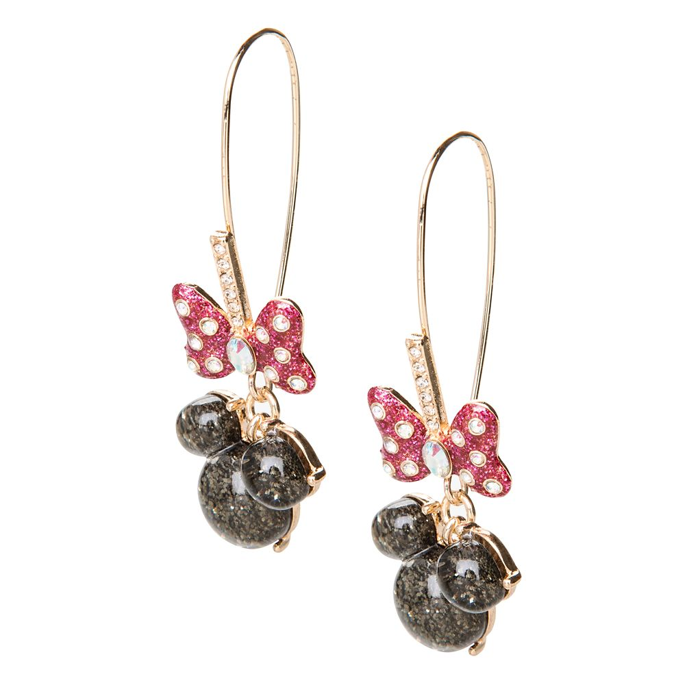 Minnie Mouse Icon Earrings by Betsey Johnson