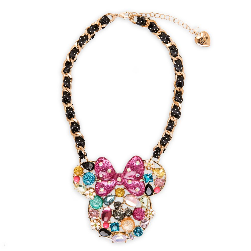 Minnie Mouse Pendant Necklace by Betsey Johnson