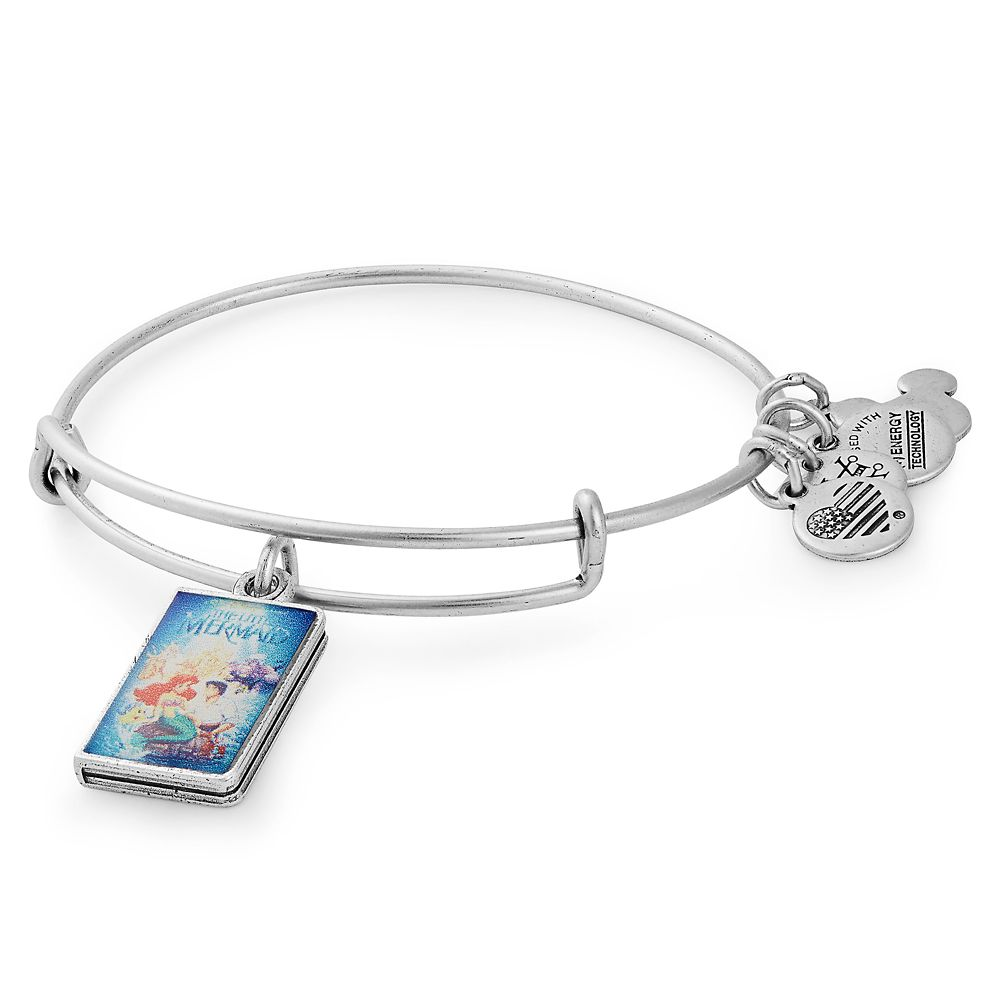The Little Mermaid ''VHS Case'' Bangle by Alex and Ani Official shopDisney