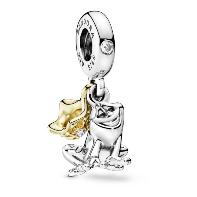 Tiana Frog and Crown Charm by Pandora Jewelry