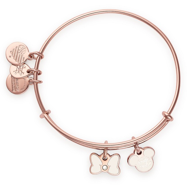 Mickey and Minnie Mouse ''Bride Tribe'' Bangle by Alex and Ani