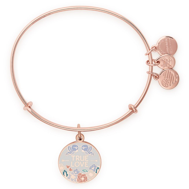 Mickey Mouse Icon ''True Love'' Bangle by Alex and Ani