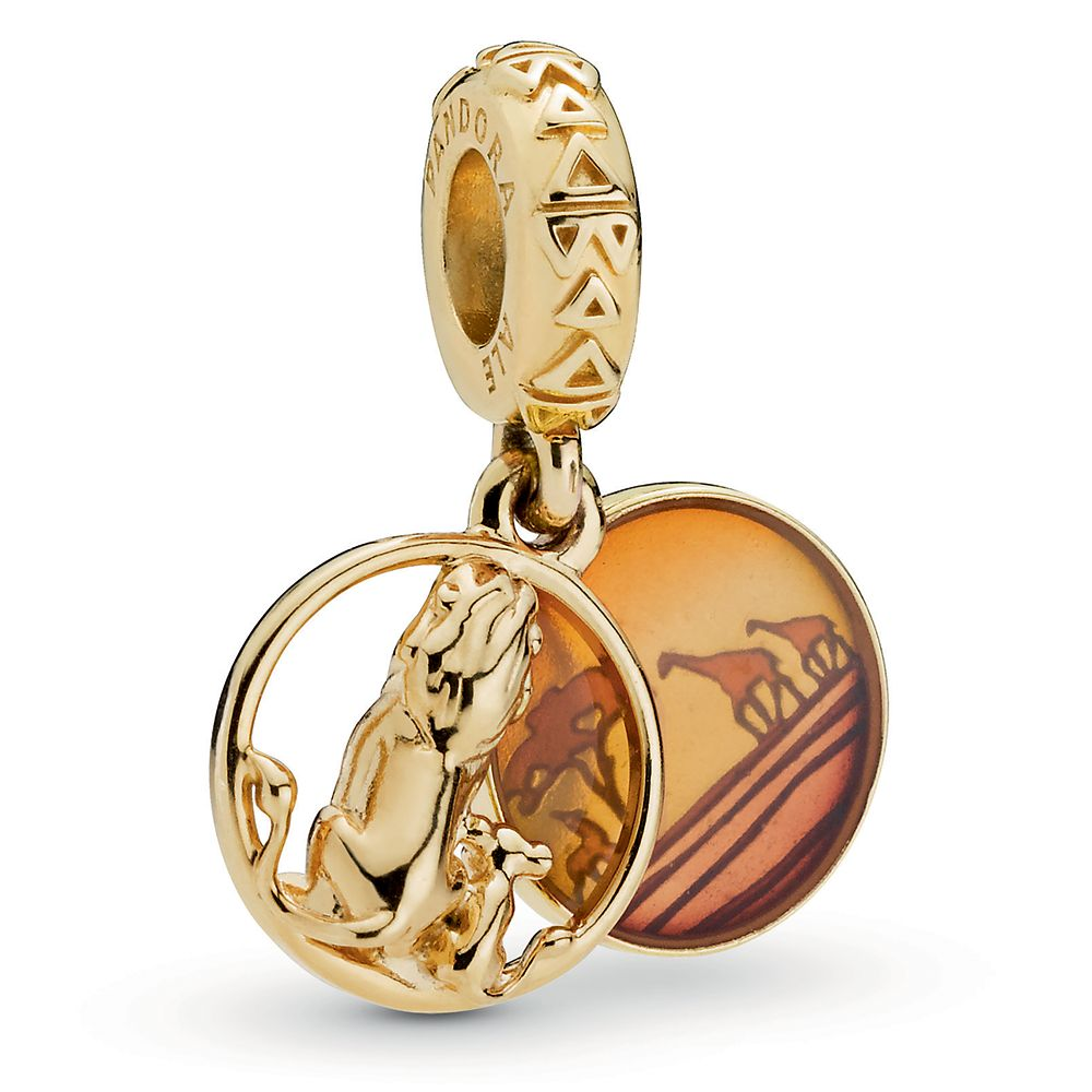 Simba and Mufasa Charm by Pandora Jewelry