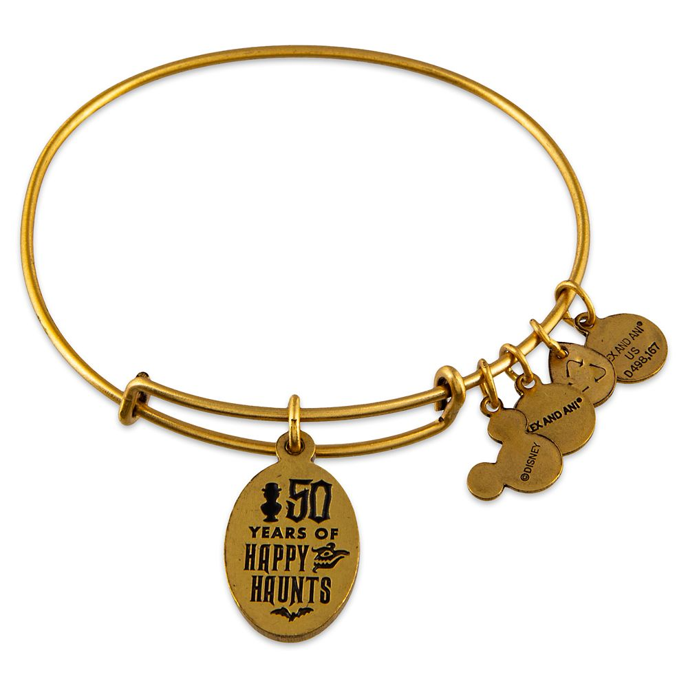 The Haunted Mansion 50th Anniversary Bangle by Alex and Ani