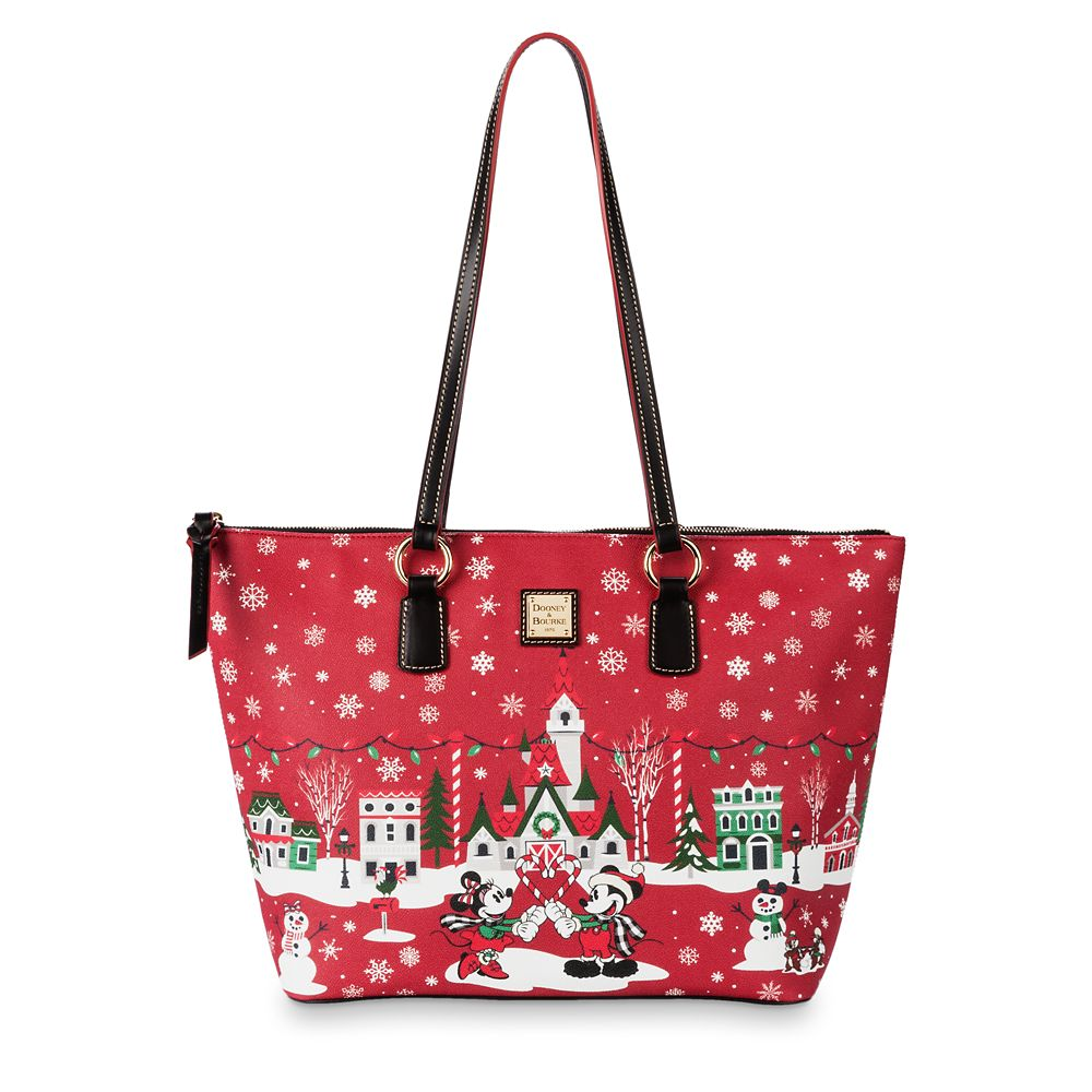 Mickey Mouse and Friends Holiday Tote by Dooney&Bourke