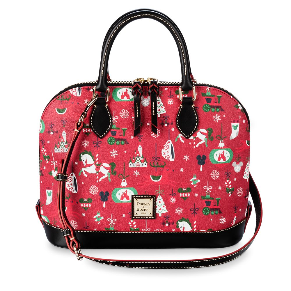 Disney Parks Holiday Zip Satchel by Dooney & Bourke