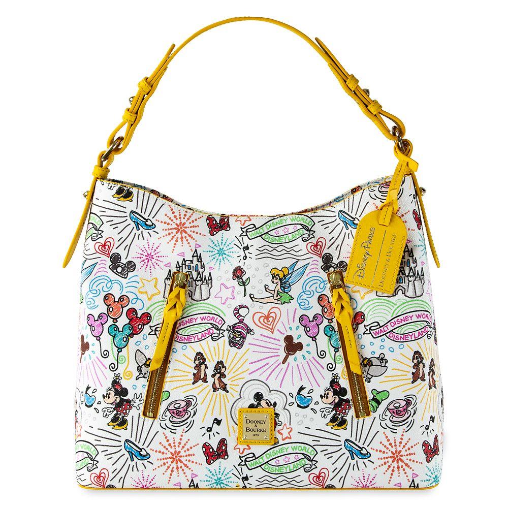 Disney Sketch Hobo Bag by Dooney & Bourke – 10th Anniversary