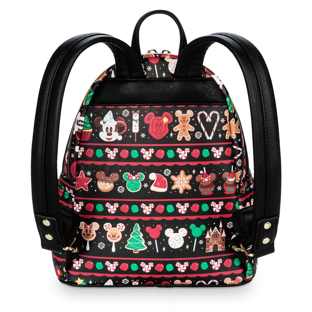 Disney Parks Food Icons Mini Backpack by Loungefly