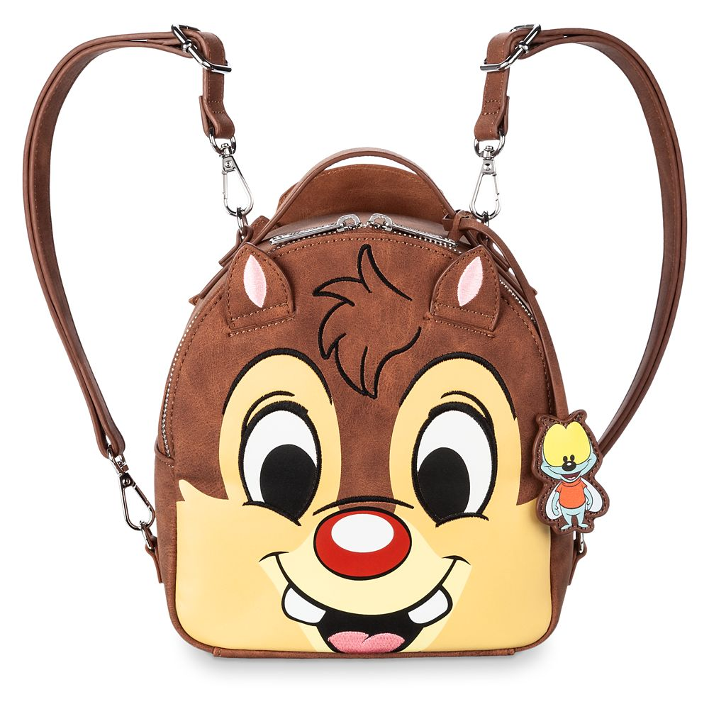 Chip 'n Dale Rescue Rangers Reversible Mini Backpack by Loungefly
