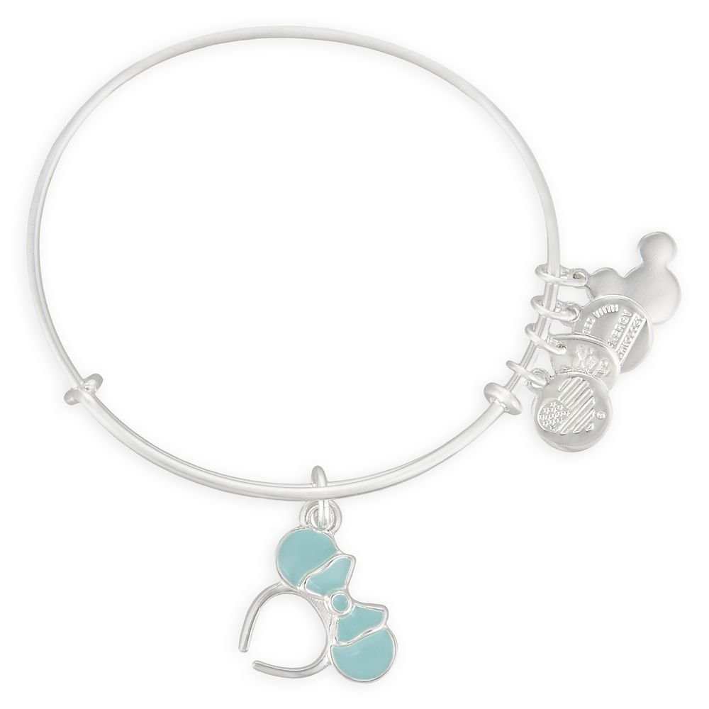 Minnie Mouse Ears Bangle by Alex and Ani – Arendelle Aqua
