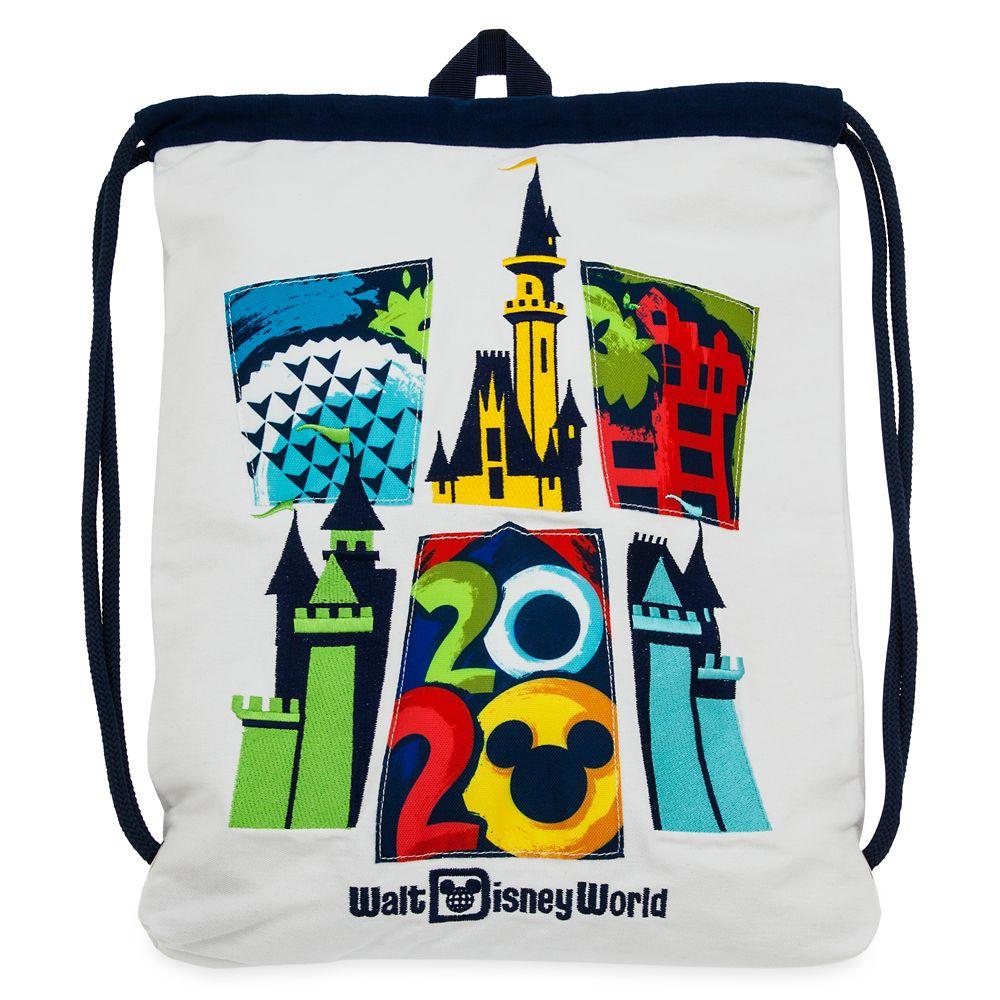 Walt Disney World 2020 Cinch Sack Tote
