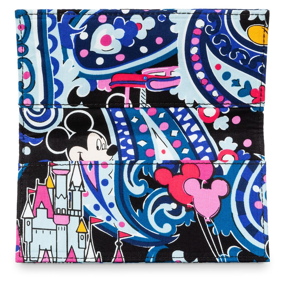 Mickey Mouse Whimsical Paisley Deluxe All Together Crossbody Bag by Vera Bradley