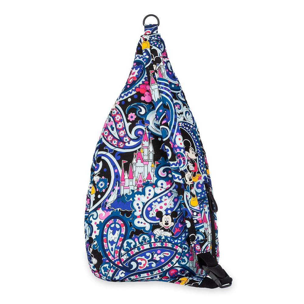 Mickey Mouse Whimsical Paisley Sling Backpack by Vera Bradley