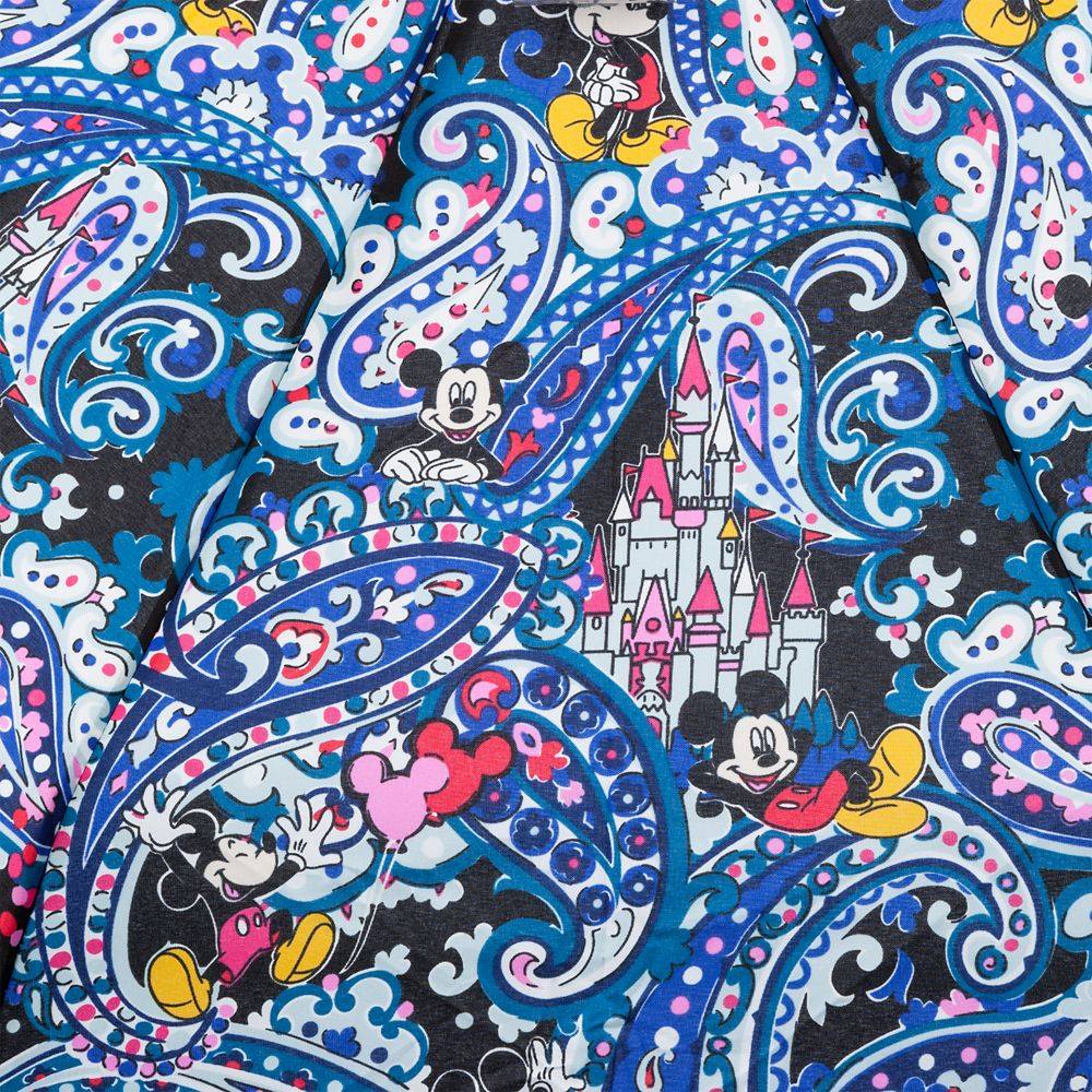 Mickey Mouse Whimsical Paisley Umbrella by Vera Bradley