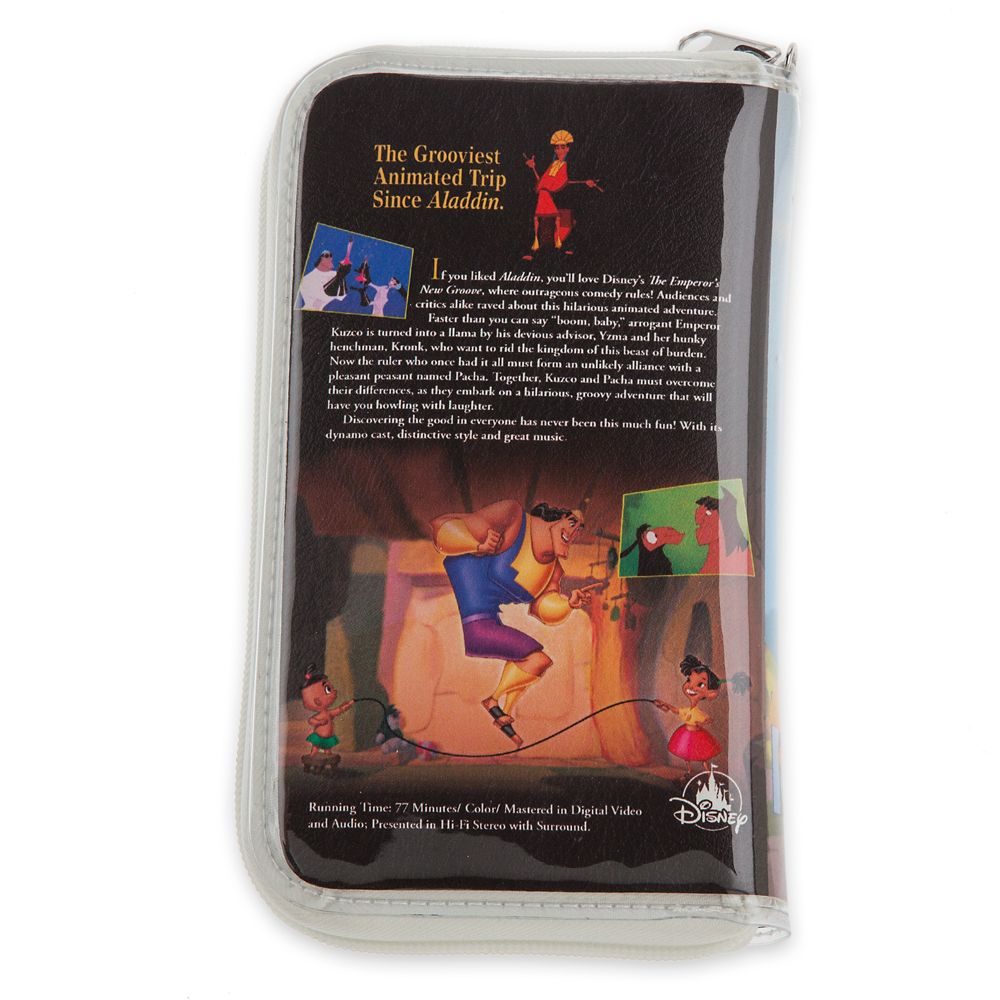 The Emperor's New Groove ''VHS Case'' Clutch