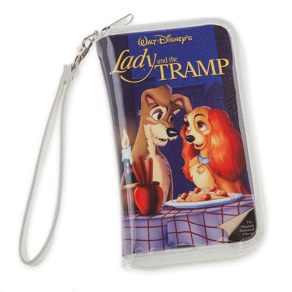 Lady and the Tramp ''VHS Case'' Clutch