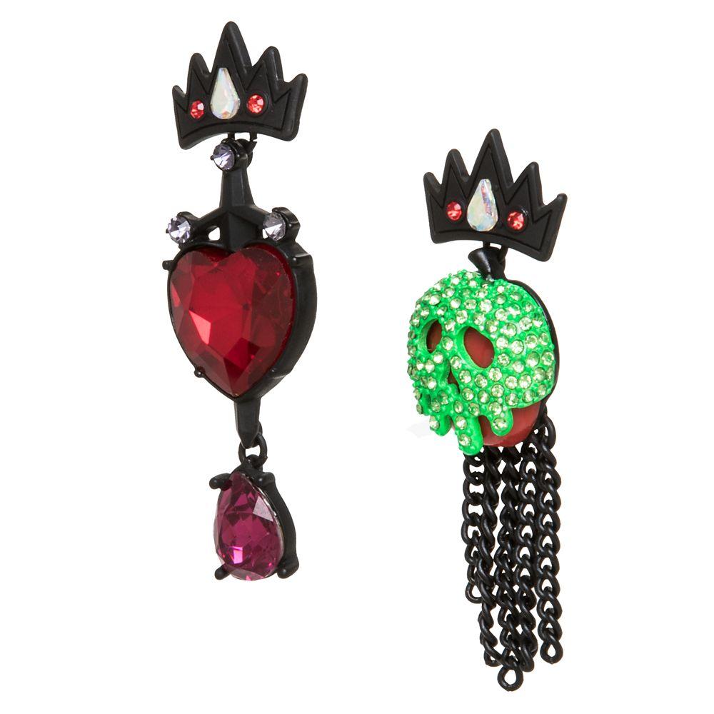 Evil Queen Dangle Earrings by Betsey Johnson