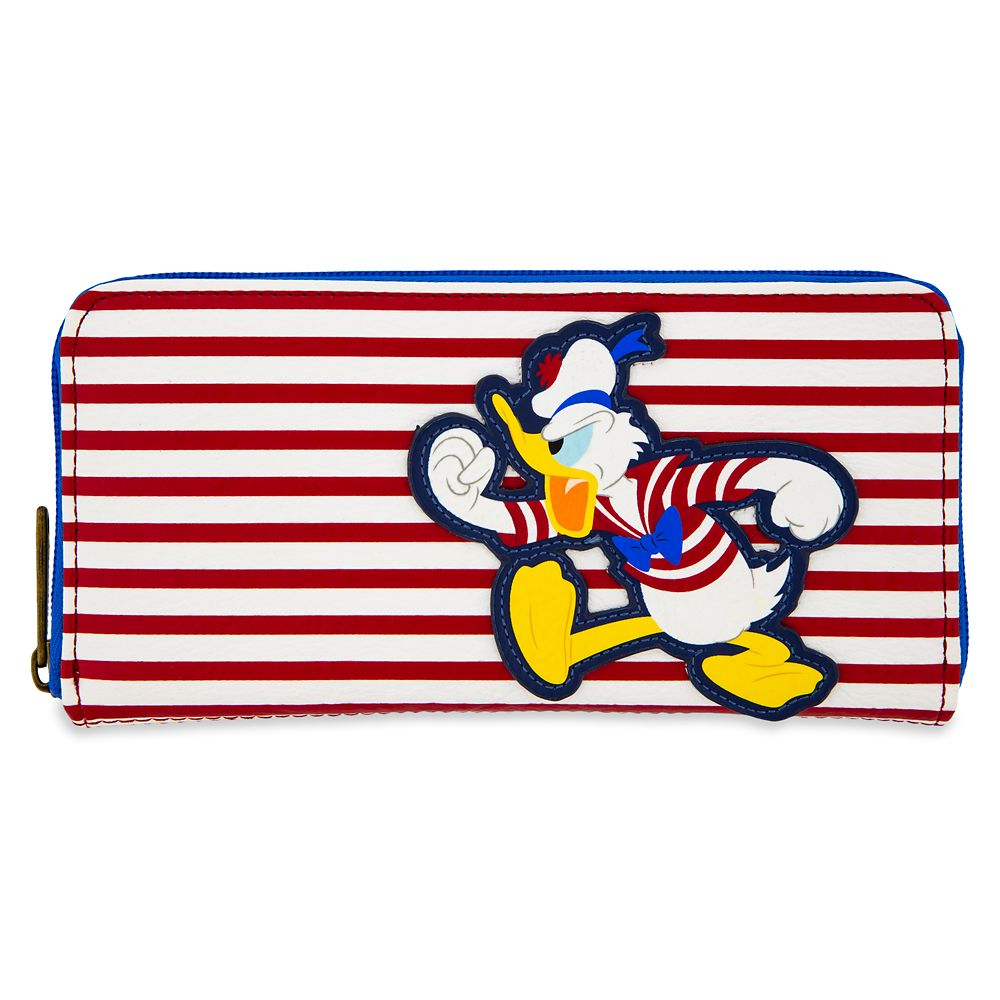 shopdisney.com - Donald Duck Wallet by Loungefly  Disney Cruise Line 50.00 USD