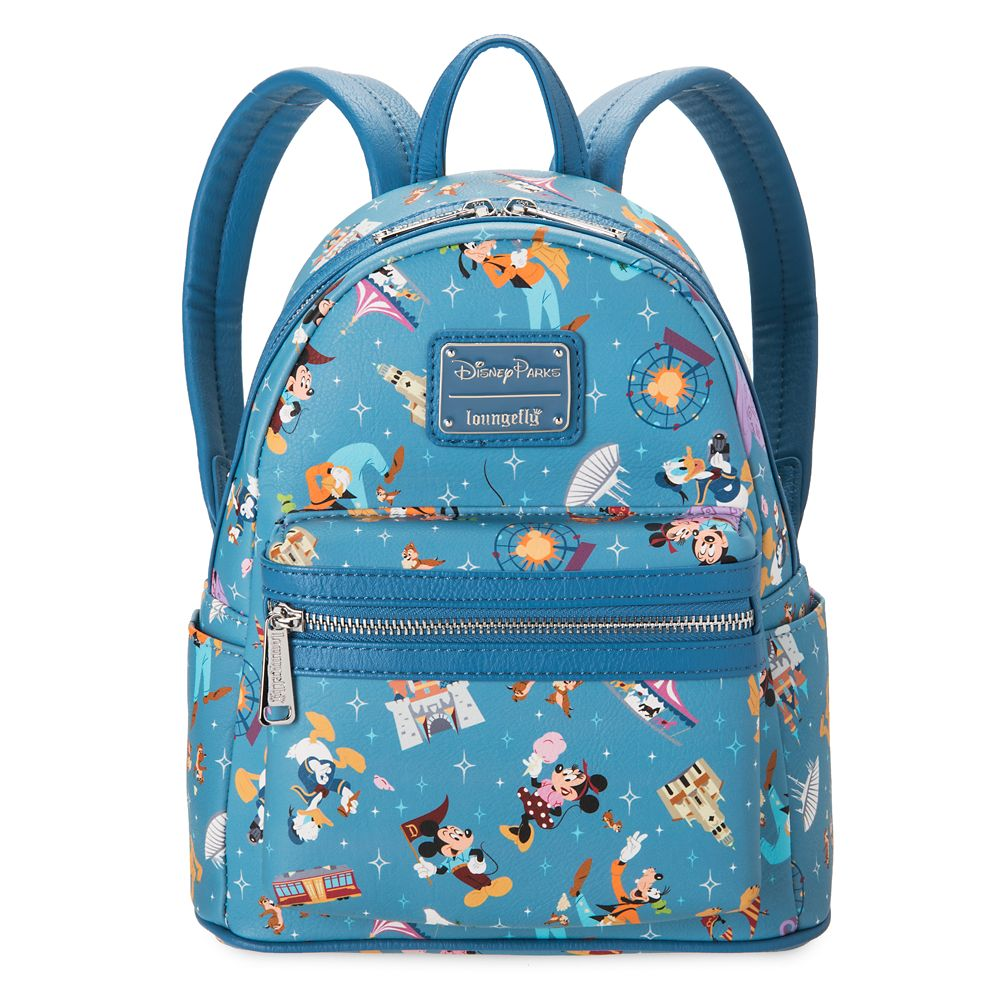 shopdisney.com - Mickey Mouse and Friends Mini Backpack by Loungefly  Disneyland 75.00 USD