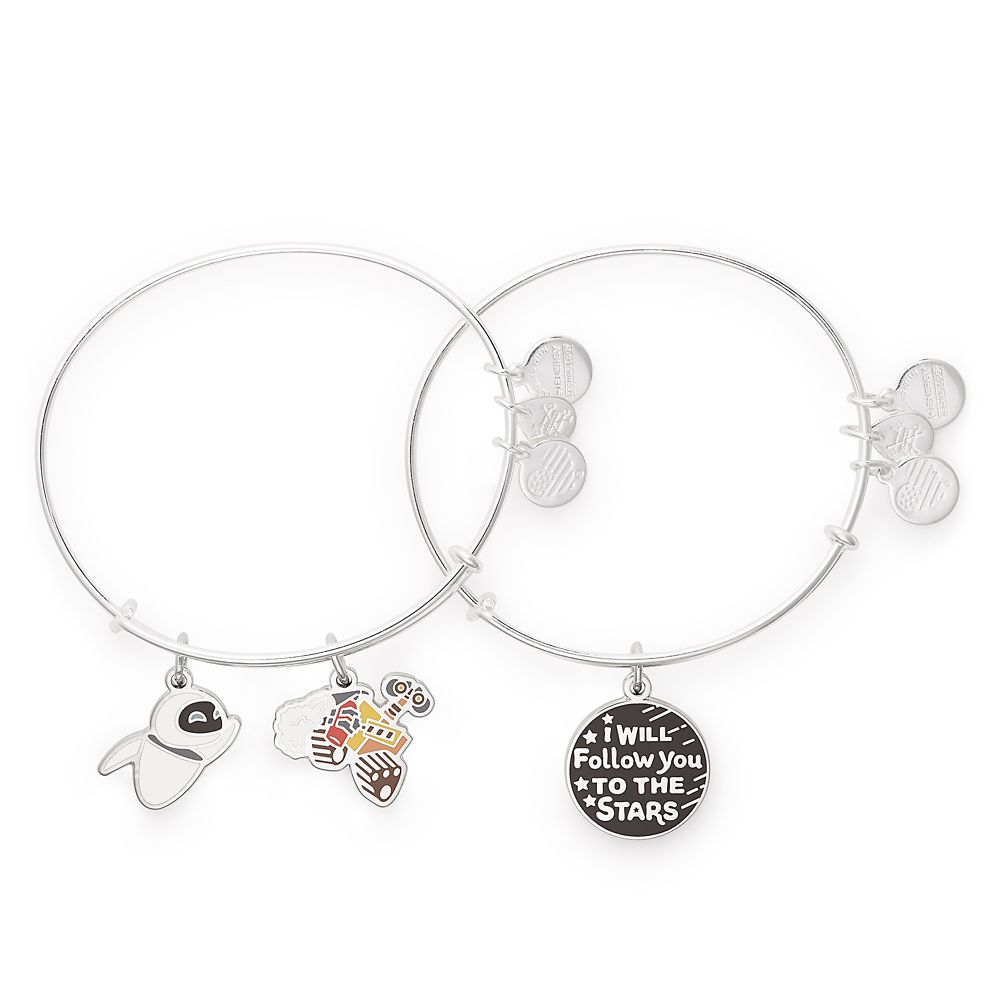 WALL•E and E.V.E. Bangle Set by Alex and Ani