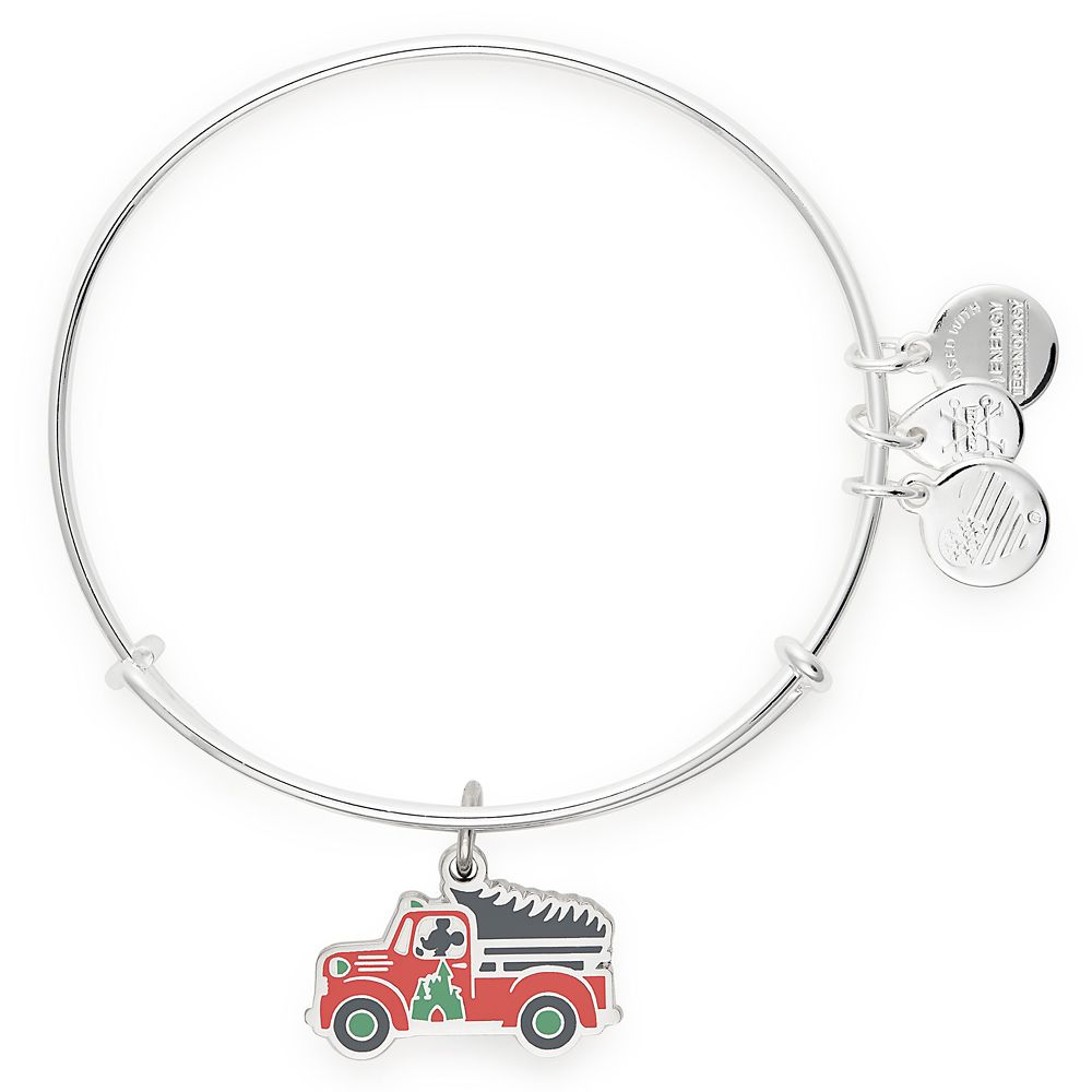Mickey Mouse Holiday Truck Bangle by Alex and Ani