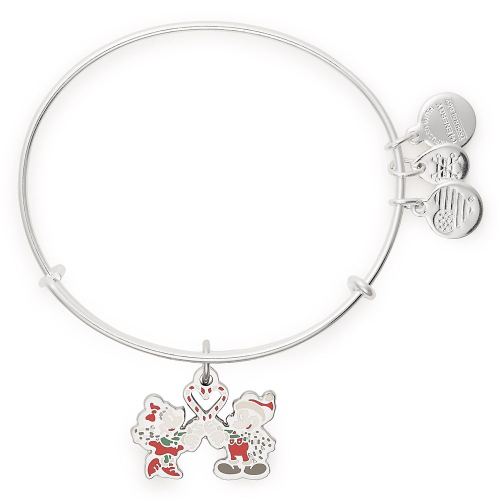 Mickey and Minnie Mouse Holiday Bangle by Alex and Ani