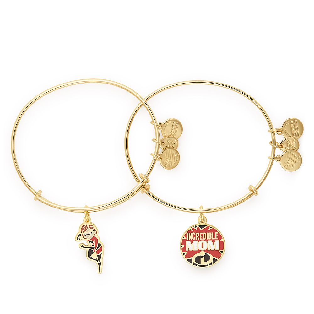 Elastigirl ''Incredible Mom'' Bangle Set by Alex and Ani Official shopDisney