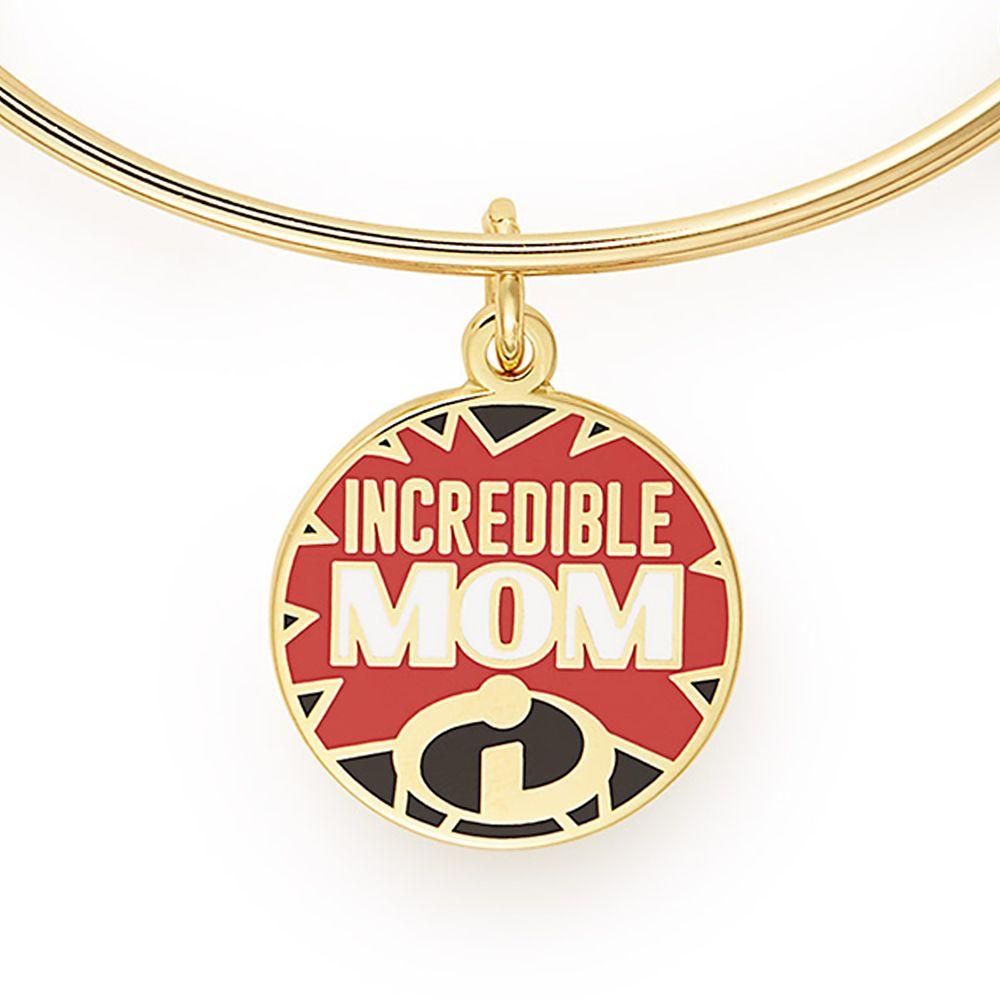 Elastigirl ''Incredible Mom'' Bangle Set by Alex and Ani