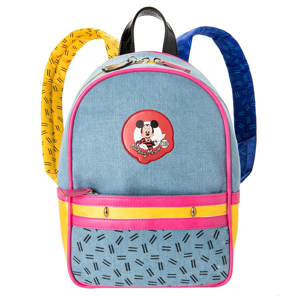 The Mickey Mouse Club Denim Mini Backpack by Danielle Nicole