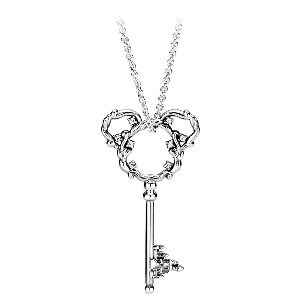 Mickey Mouse Fantasyland Castle Key Necklace by Pandora Jewelry