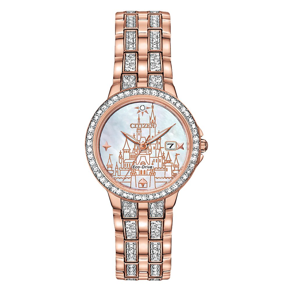 Fantasyland Castle Eco-Drive Watch for Women by Citizen Limited Edition Official shopDisney