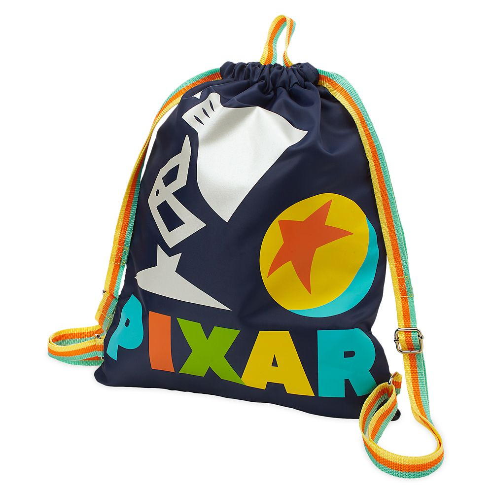 Pixar Lamp and Pixar Ball Cinch Sack