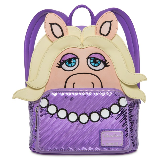 Miss Piggy Mini Backpack by Loungefly – The Muppets