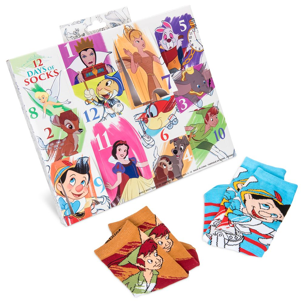 Disney Ink & Paint Sock Set for Adults