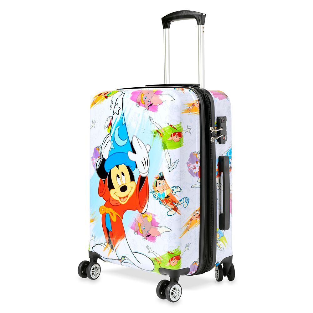 Disney Ink & Paint Rolling Luggage – Small 21''