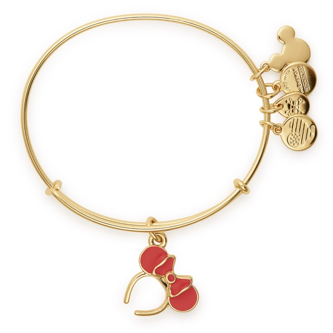 Minnie Mouse ''Ear Headband'' Bangle by Alex and Ani – Red