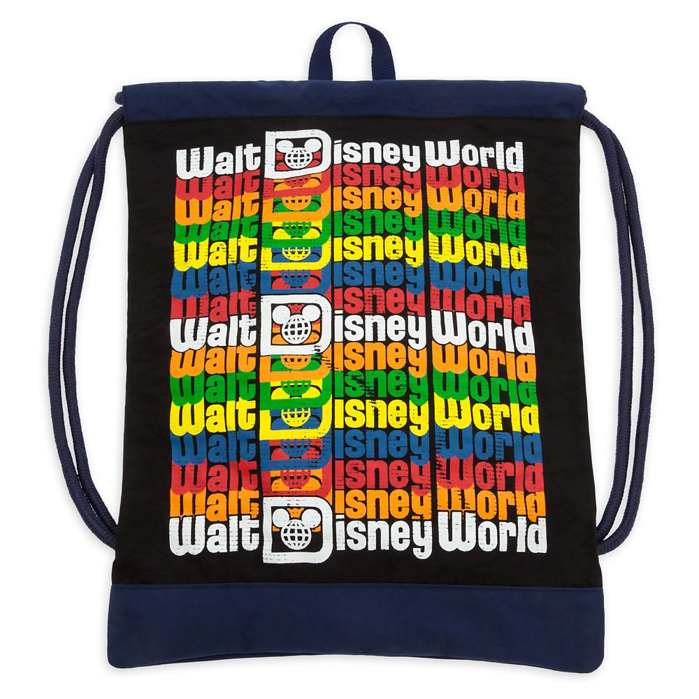 Walt Disney World Logo Cinch Sack