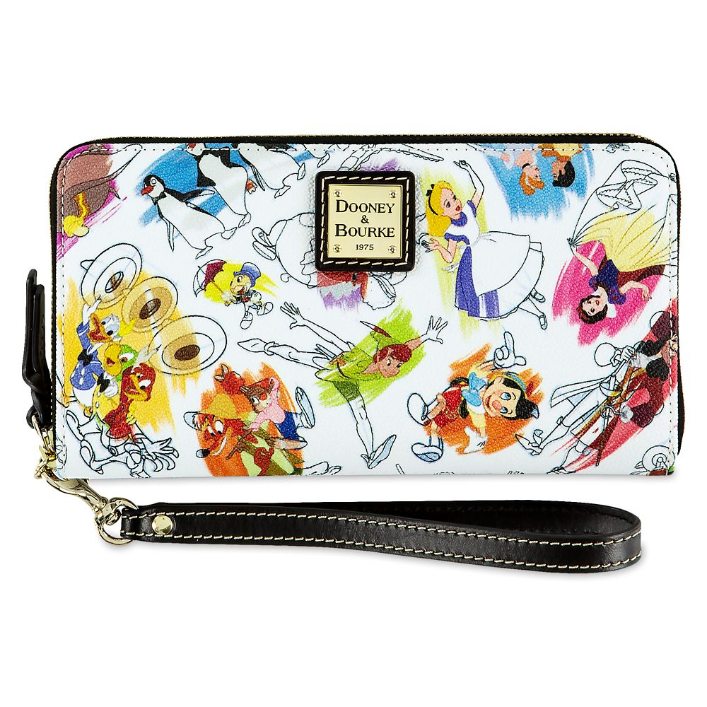 Disney Ink & Paint Wallet by Dooney & Bourke