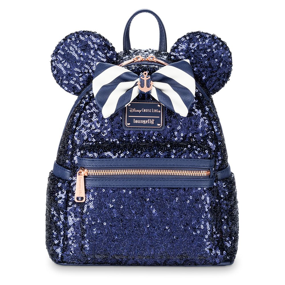Minnie Mouse Sequined Mini Backpack by Loungefly – Disney Cruise Line