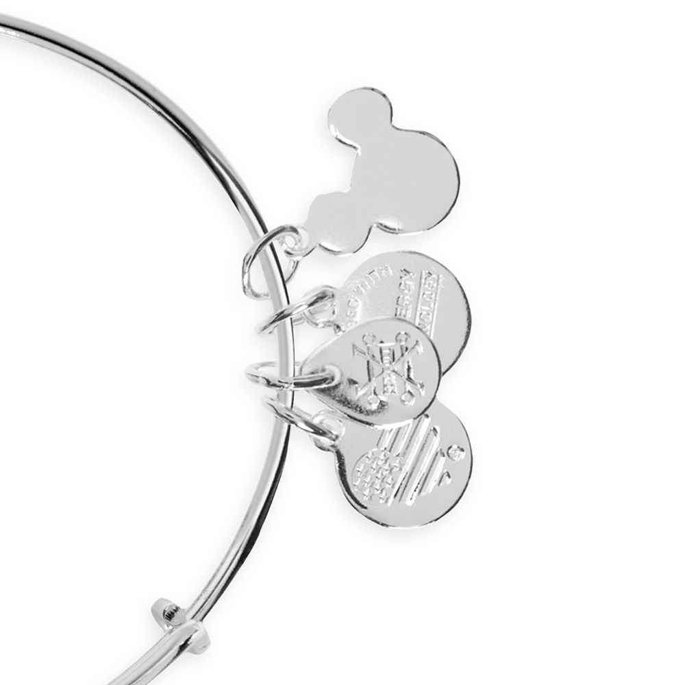 Mickey and Minnie Mouse Mad Tea Party Bangle by Alex and Ani