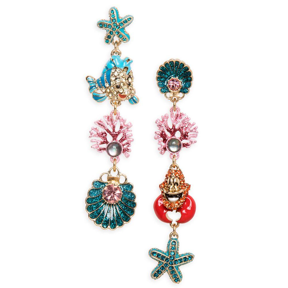 The Little Mermaid Dangle Earrings by Betsey Johnson