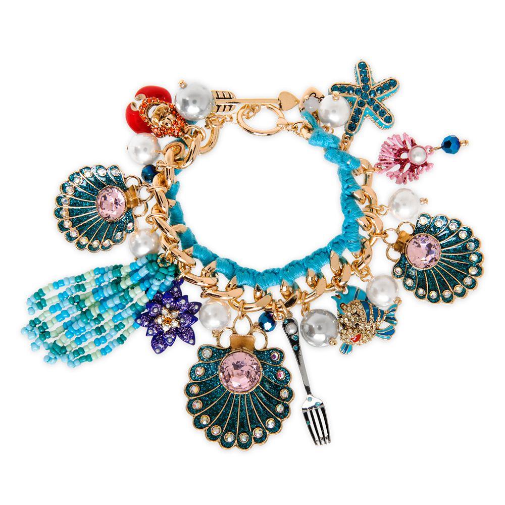 The Little Mermaid Charm Bracelet by Betsey Johnson