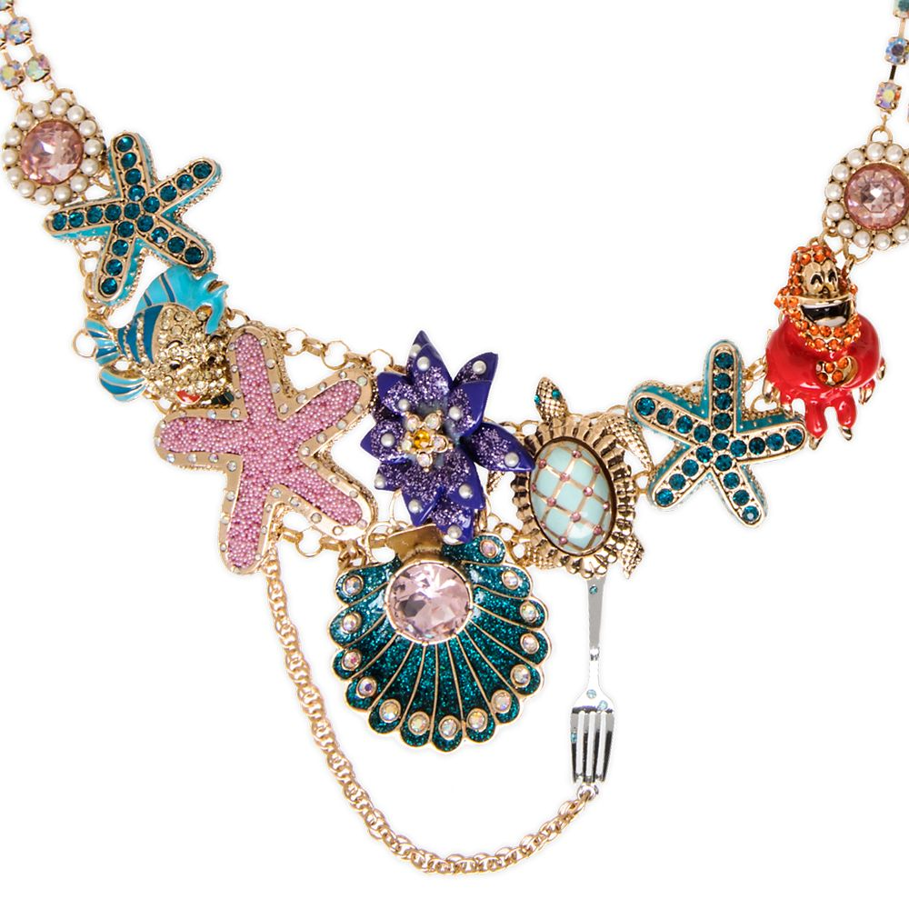 The Little Mermaid Collar Necklace by Betsey Johnson