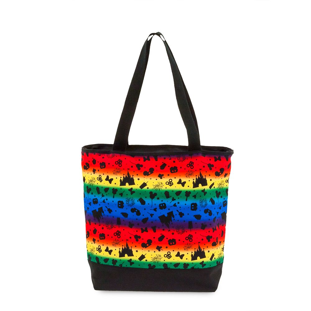 shopdisney.com - Disney Parks Rainbow Tote Bag 34.99 USD
