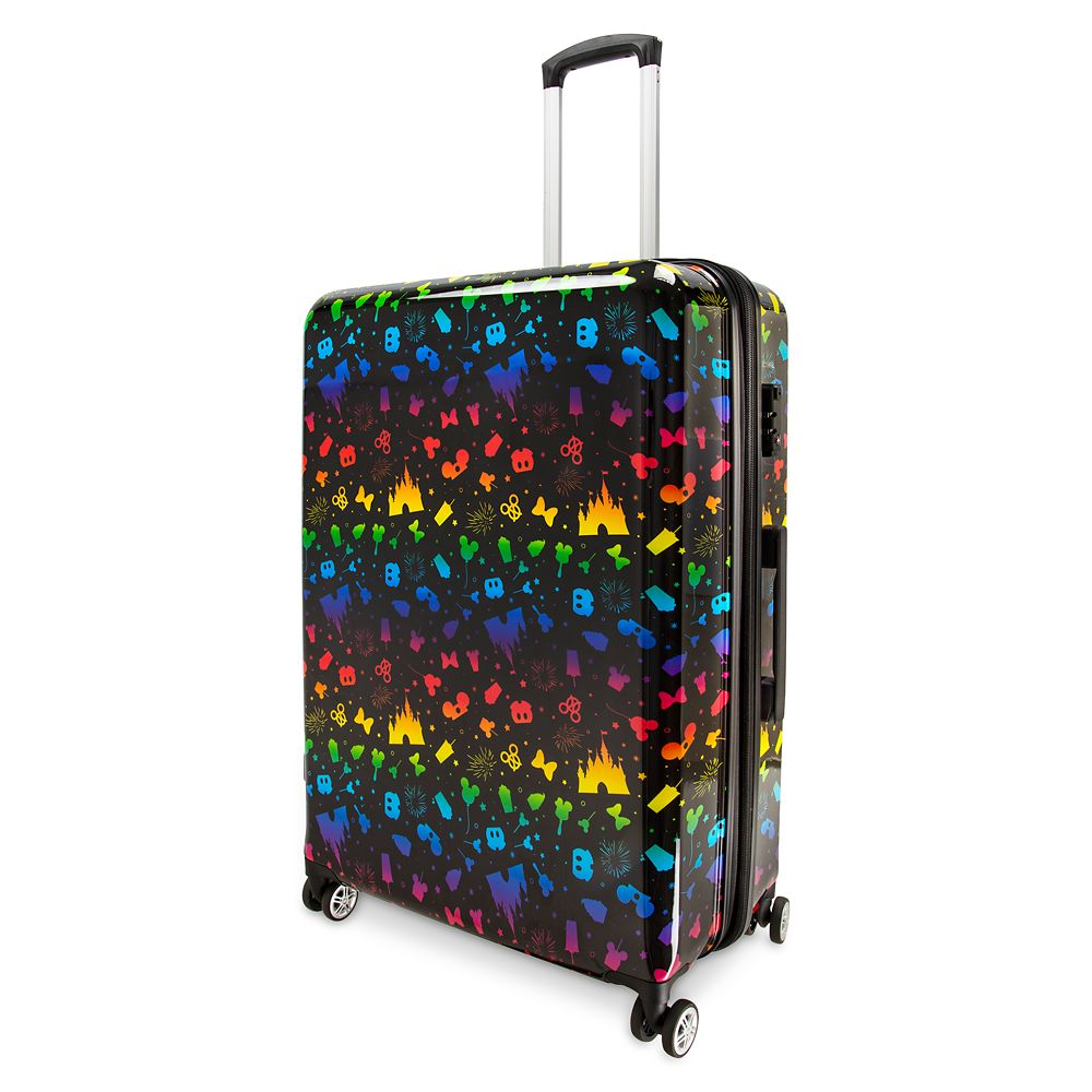 Disney Parks Rainbow Luggage – 28''