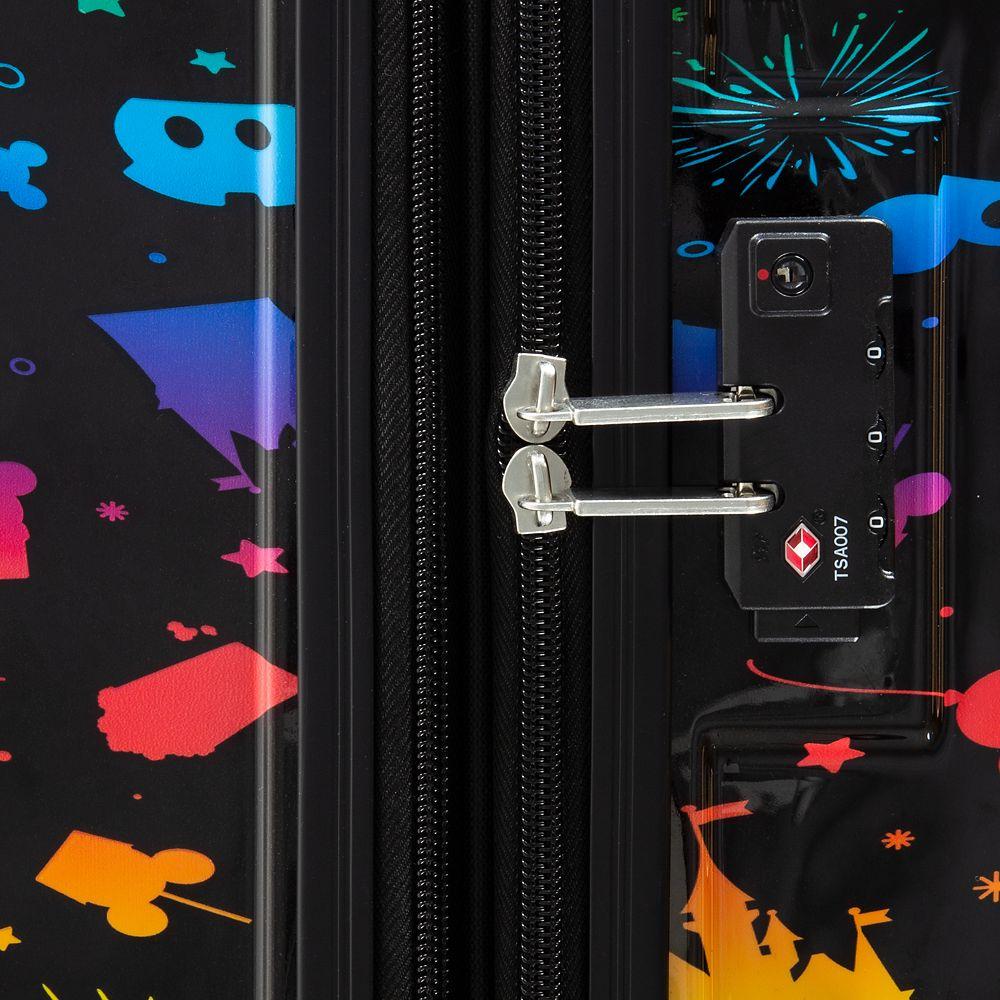 Disney Parks Rainbow Luggage – 28''